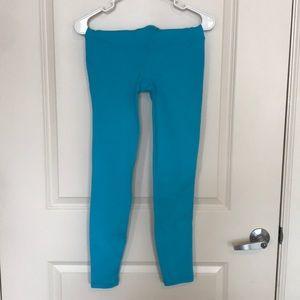 GAP Pants - GapFit Leggings Small Blue